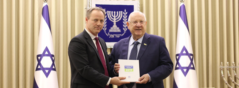 נשיא המדינה ונשיא המכון הישראלי לדמוקרטיה